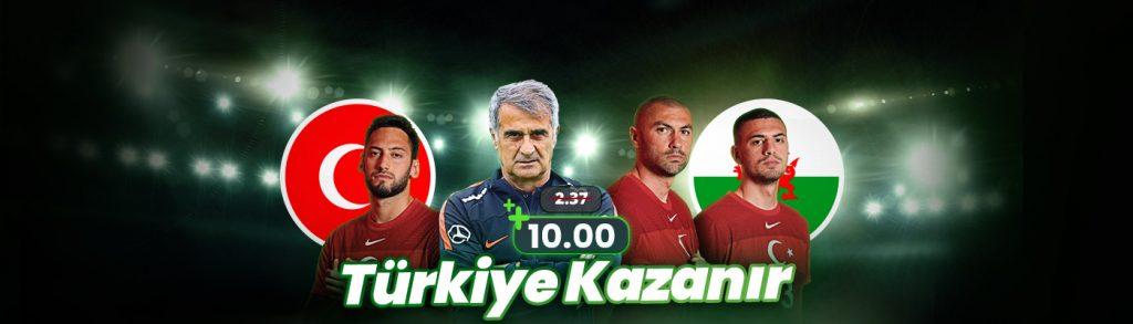 Dev Oranlar EURO2020 Bets10 Bahiste Türkiye - Galler Maçı